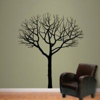 Winter Tree Wall Decal   Shop Fathead for Wall Art Dcor