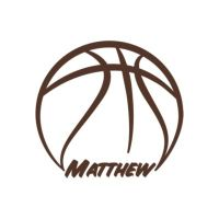 Basketball Personalized Name Wall Decal | Shop Fathead ...