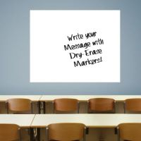 Extra Large White Dry Erase Board by Fathead Wall Decal