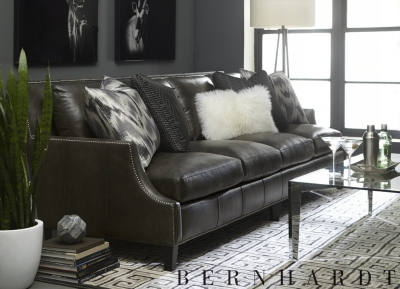 havertys furniture leather sofas sofa sleeper steel baatar pillow  