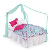 Canopy Bed & Bedding Set | furnaccesstm | American Girl