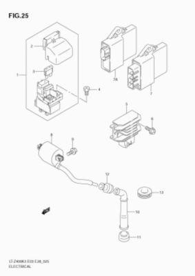 drz400 headlight wiring diagram volvo 240 2003 drz 400 schematic 2004 suzuki 2007 ltz