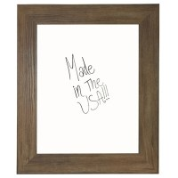 42W x 48H Decorative Wood Framed Whiteboard