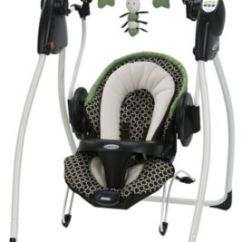Baby Swing Vibrating Chair Combo Large Indoor Chaise Lounge Duo 2 In 1 Bouncer Gracobaby Com Zoom