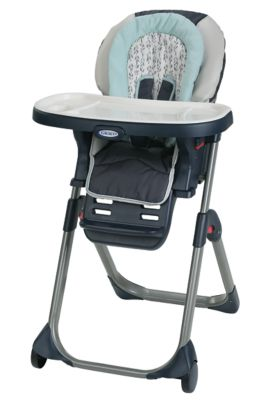 baby trend high chair monkey plaid aluminium chairs and tables graco highchairs