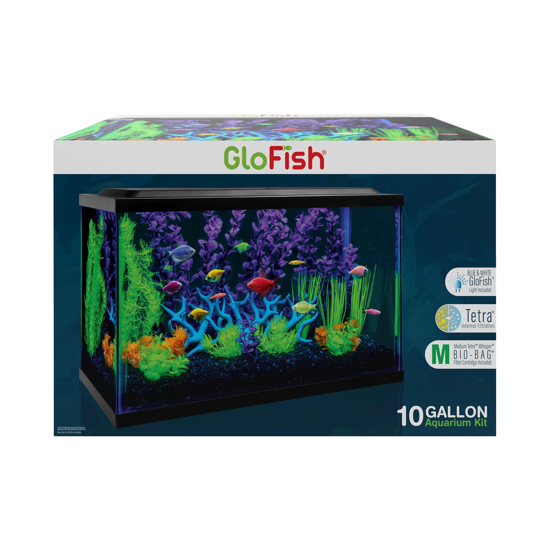 glofish tanks lights kits