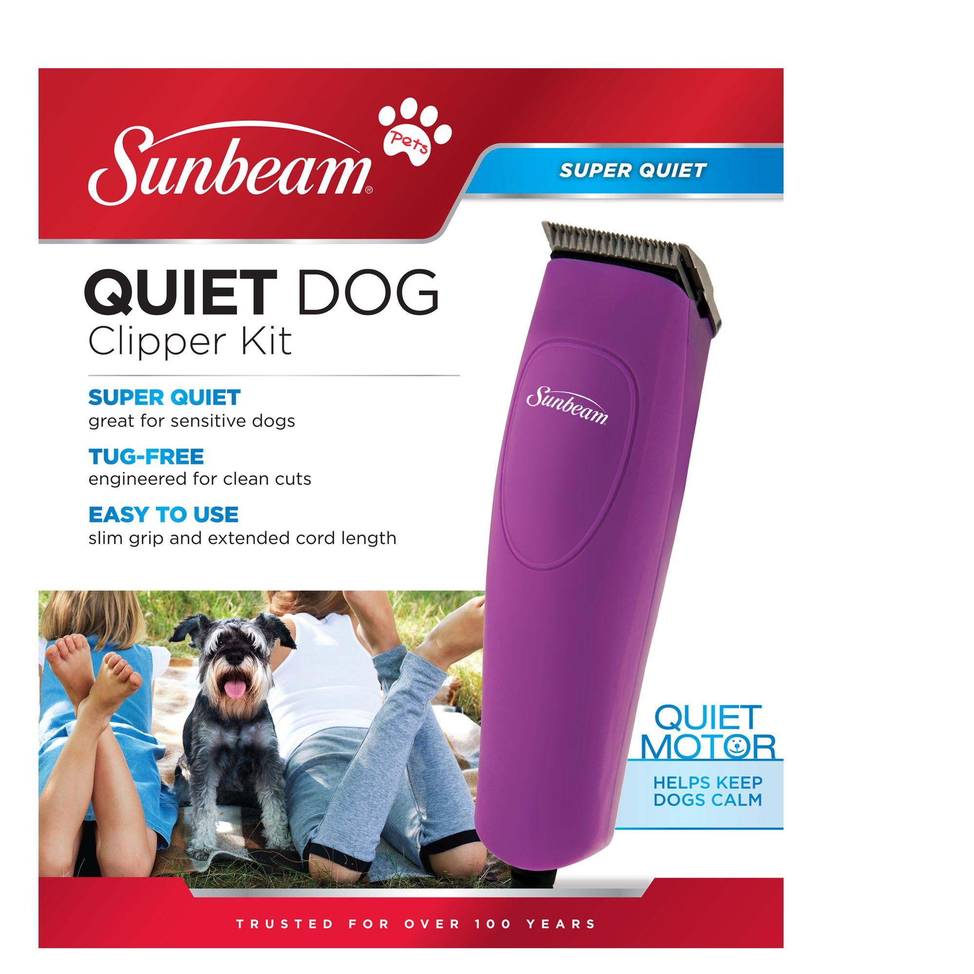 sunbeam quiet dog clipper kit