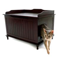 Designer Catbox Cat Litter Box Enclosure   cat Litter ...