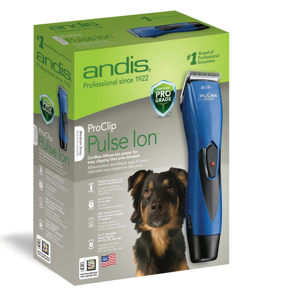andis proclip pulse ion dog hair