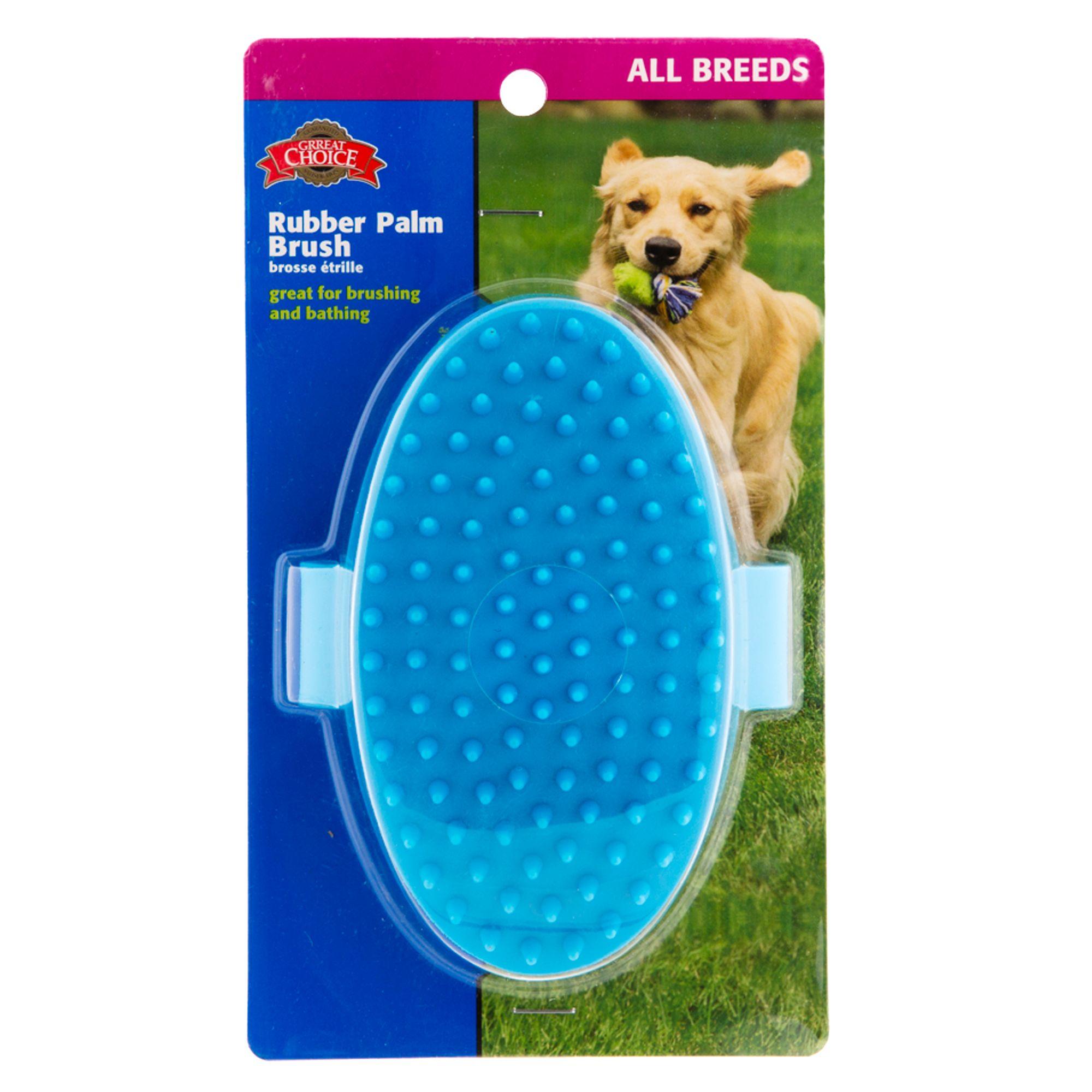 grreat choice palm brush dog