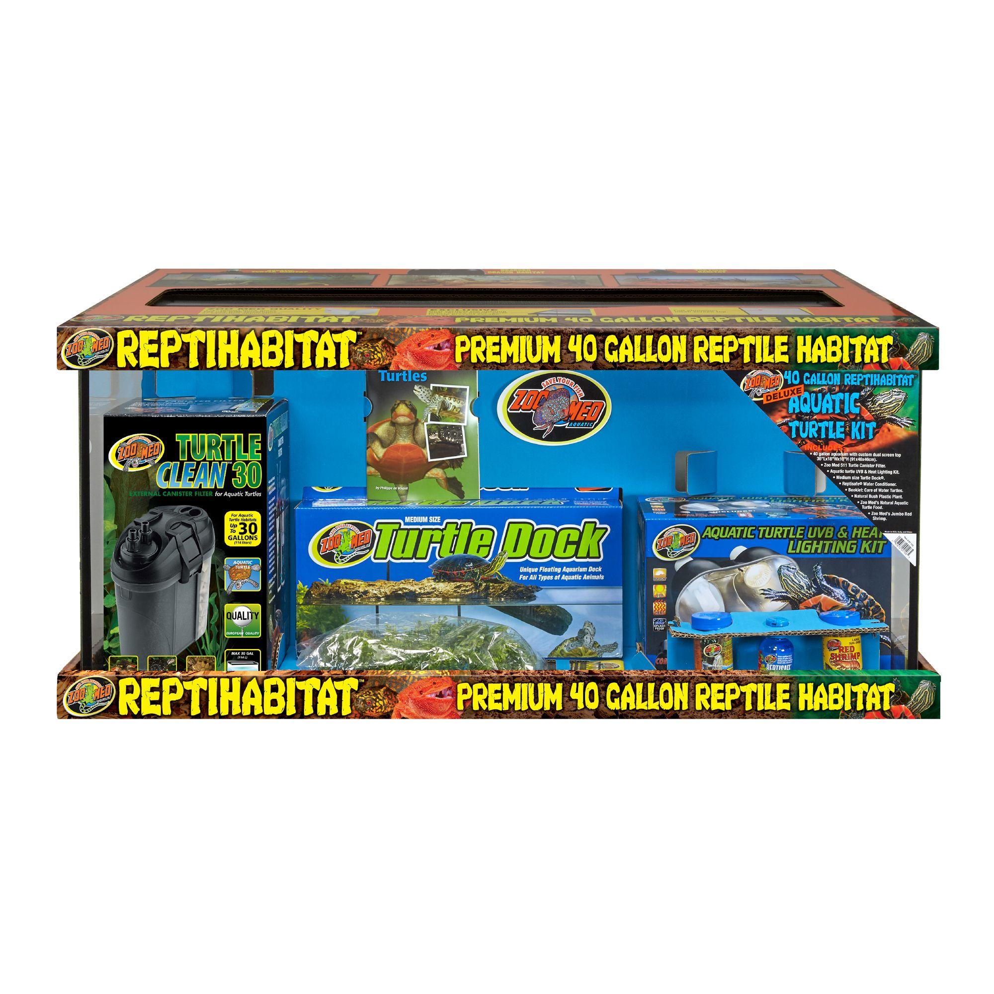 zoo med 40 gallon turtle aquatic kit