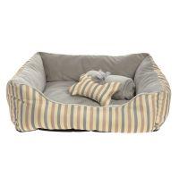 Grreat Choice Stripes Cuddler Pet Bed Gift Set | dog ...