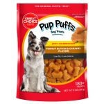 Grreat Choice Pup Puffs Dog Treats Dog Biscuits Bakery Petsmart