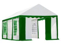 Enclosure with Windows - Party Tent 10 x 20 ft. - Canopies