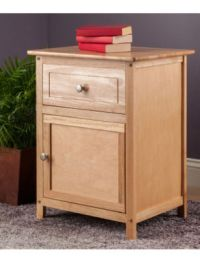 Winsome Natural Wood Finish Night Stand | Stage Stores