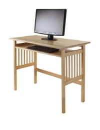Winsome Natural Wood Computer Desk | Stage Stores