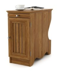 Ameriwood Chair Side Table with Magazine Storage