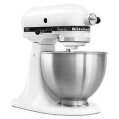 Kitchen Aide Mixer Attachments Stainless Steel Hood Kitchenaid Classic 4 5 Quart Tilt Head Stand Stage