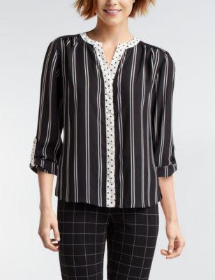 Valerie stevens black white shirts  blouses also women  dresses handbags stage rh