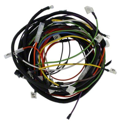 wiring harness kit for tractors using 3 or 4 terminal voltage regulator [ 1200 x 1200 Pixel ]