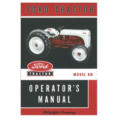 medium resolution of ford 8n operators manual reprint
