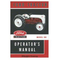 1952 Ford 8n Tractor Wiring Diagram Simple Of Meiosis 51 Great Installation Bok040 Operators Manual Repr Rh Steinertractor Com Ignition