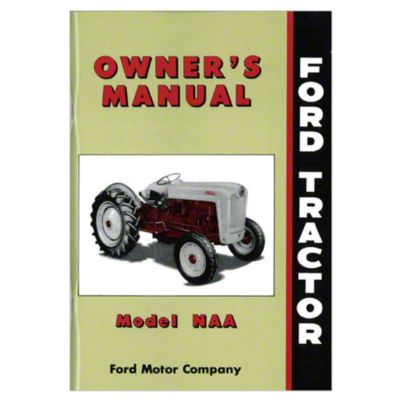 small resolution of ford naa owner operator manual