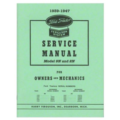 1940 9n ford tractor wiring diagram 1994 club car best library history 1939 1947 shop service manual for owners and mechanics