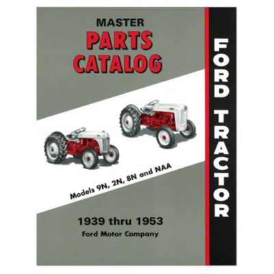 hight resolution of master parts catalog 1939 1953 9n jubilee