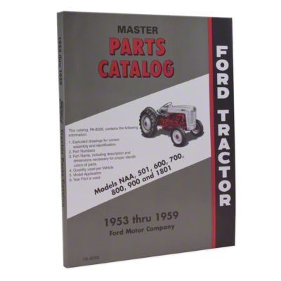 small resolution of ford parts manual reprint