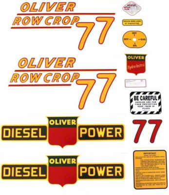 small resolution of oliver 77 spec