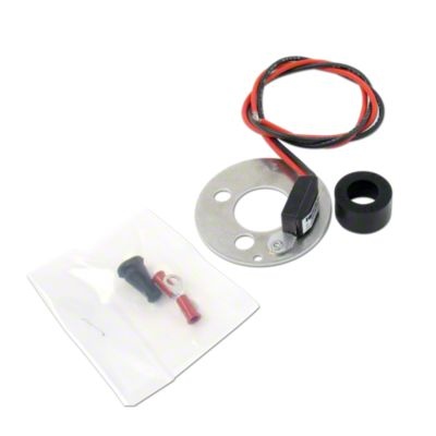 electronic ignition conversion kit 12 volt negative ground 4 cyl delco distributor with clips [ 1200 x 1200 Pixel ]