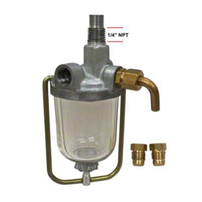 small resolution of sediment bowl fuel filter