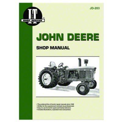 John Deere 5020 Wiring Diagram Jd203 John Deere I Amp T Shop Manual Col