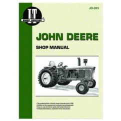 John Deere 3020 Wiring Diagram Pdf Cub Cadet Lt1050 Jd203 I Andt Shop Manual Col