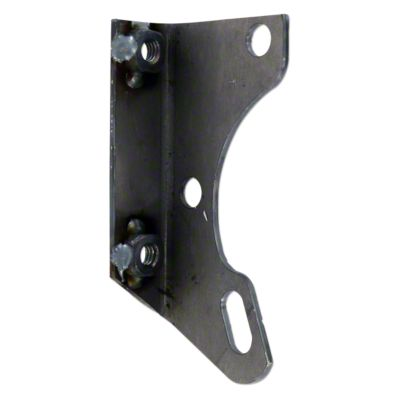 medium resolution of distributor coil bracket mounts to fan shaft