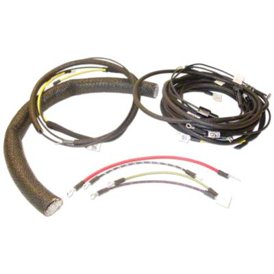 medium resolution of wiring harness kit for tractors using 3 or 4 terminal voltage regulator