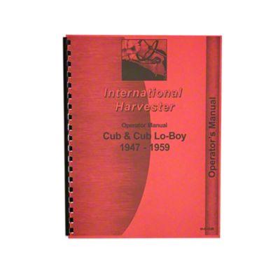 medium resolution of rep081 operators manual farmall cub rh steinertractor com 1950 farmall cub wiring diagram 1949 farmall