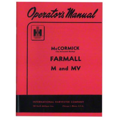 hight resolution of rep098 operators manual farmall m 19farmall m parts diagram wheel 16