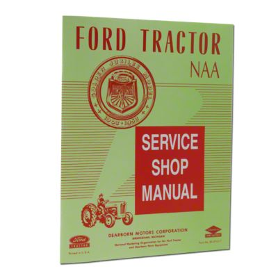 hight resolution of ford naa service manual reprint