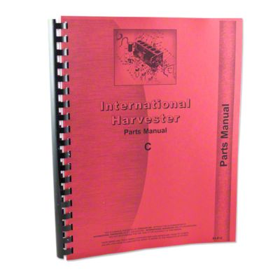 small resolution of international harvester farmall c tractor parts manual