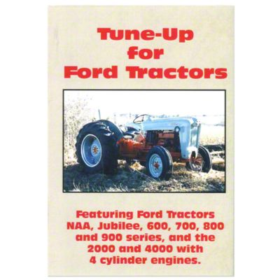 ford jub 600 900 tune up video vhs  [ 1200 x 1200 Pixel ]
