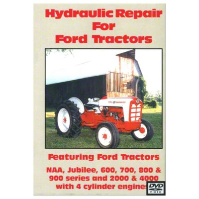 hydraulic repair ford tractor video dvd  [ 1200 x 1200 Pixel ]