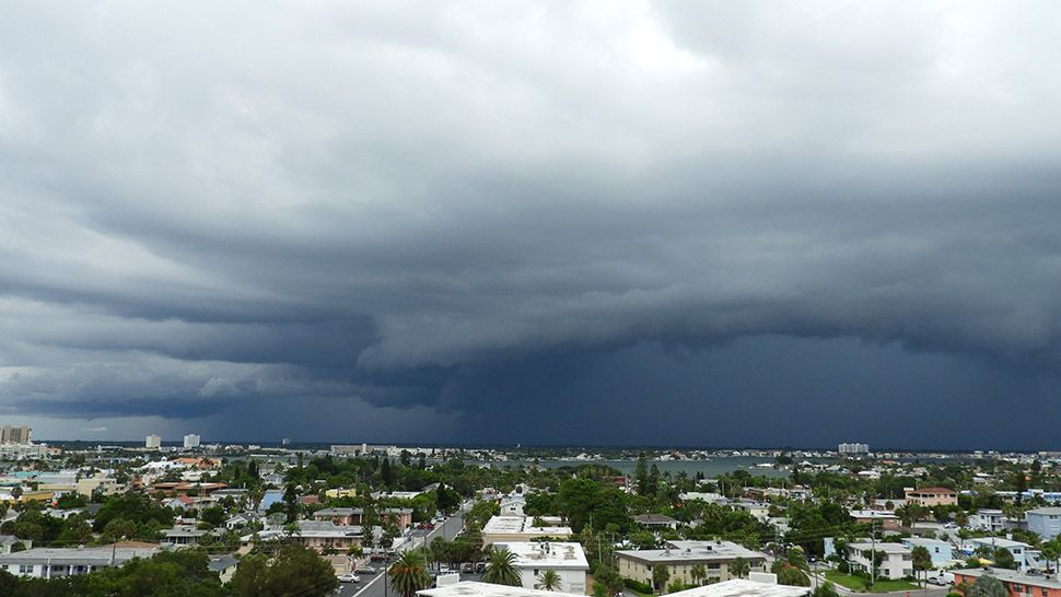 weather forecast downpours expected
