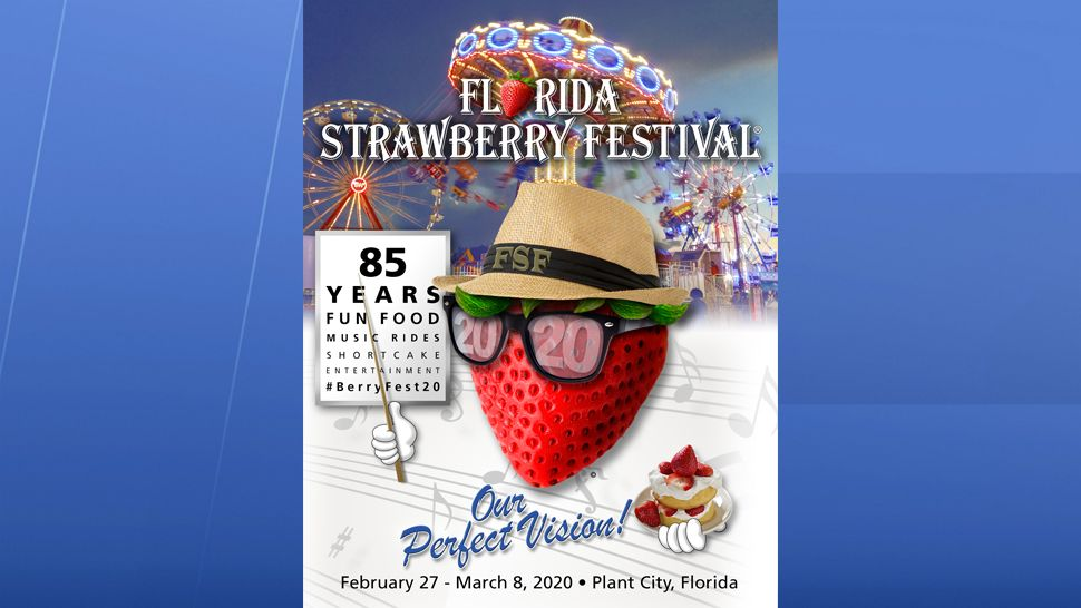 Florida Strawberry Fest Announces New Theme for 2020 Event