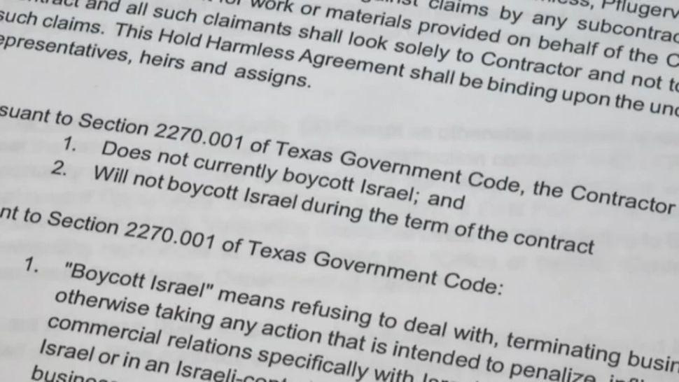 ACLU Sues Ken Paxton Over Anti-Boycott Law