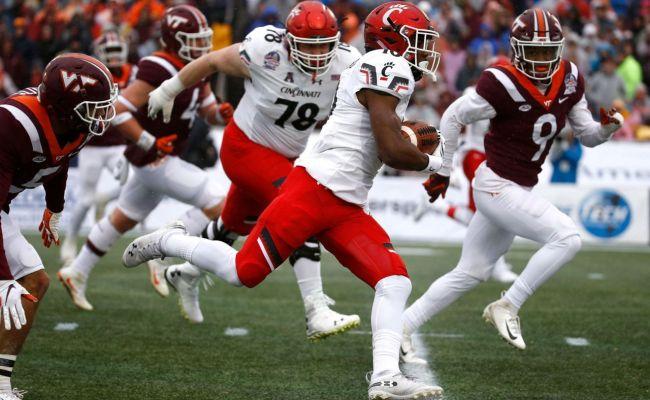 Cincinnati Rallies Past Virginia Tech 35 31 In Military Bowl