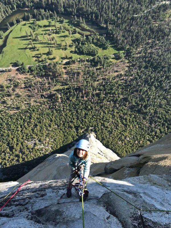 10-year- Colorado Girl 'overwhelmed' Yosemite Climb