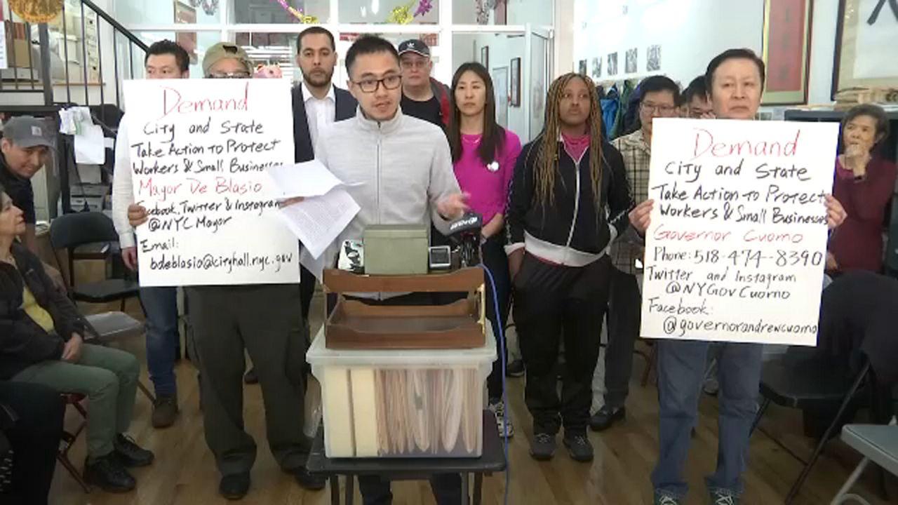Chinatown businesses seek economic relief from coronavirus