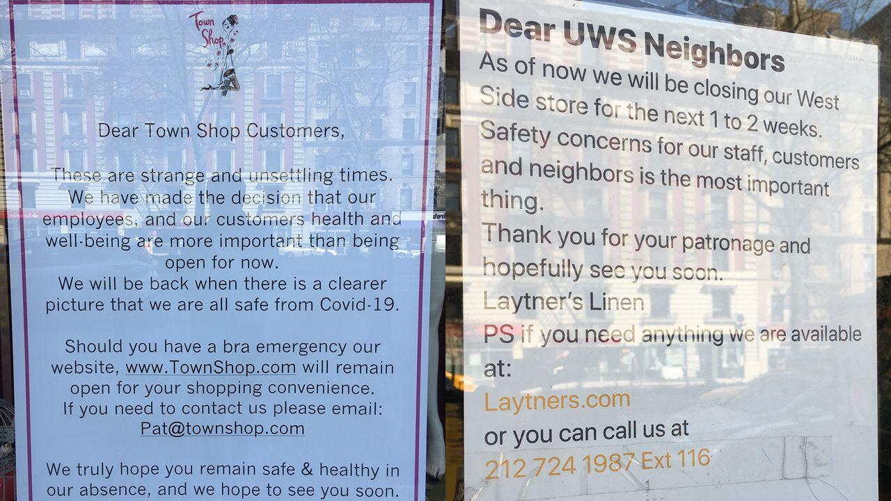 Small Businesses Fear for Future Amid Coronavirus Outbreak